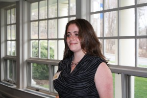2012 Goldwater Scholar, Anna Green (CLAS/MCB '13) at the Annual ONS Celebration of Excellence