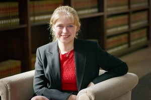 Molly Rockett (CLAS '15: Political Science), 2014 Truman Scholar. Photo by Peter Morenus, UConn Today