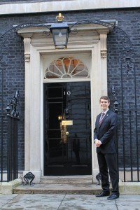 Ethan Butler (ENGR '12) 2013 Marshall Scholar at 10 Downing St., London